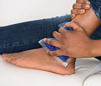 Ankle pain Ayurvedic treatment