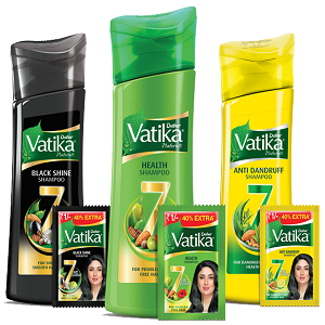 Dabur Unveils Vatika Shampoos with Power of 7 Natural Ingredients