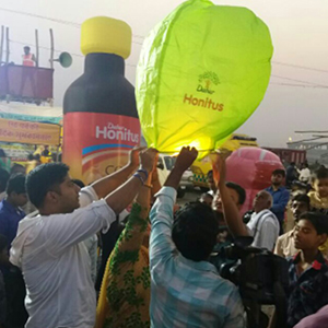 Dabur takes the wishes of the Chhath puja devotees sky high