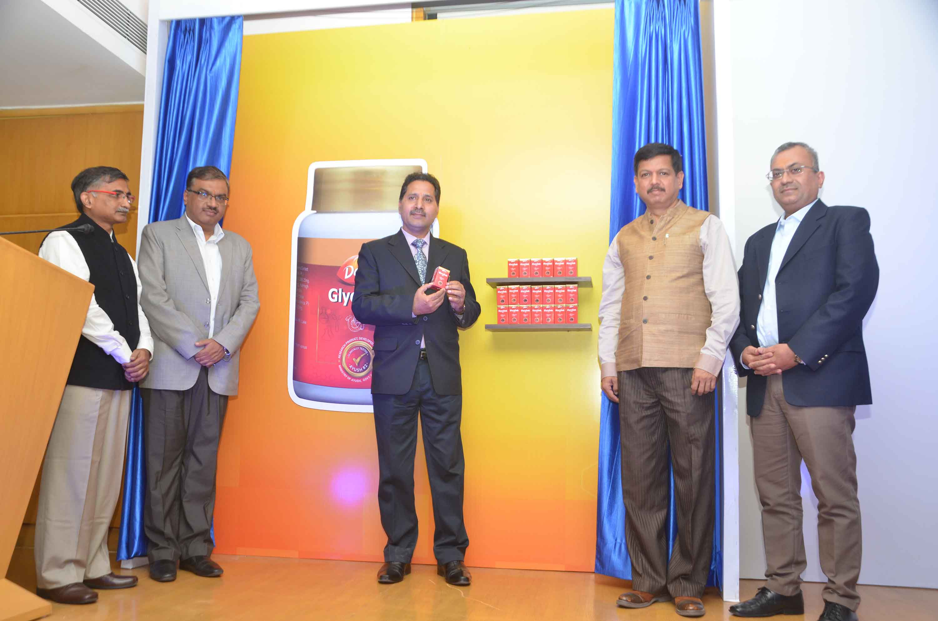 Dabur, AYUSH Ministry launch GLYCODAB TABLETS on  World Diabetes Day