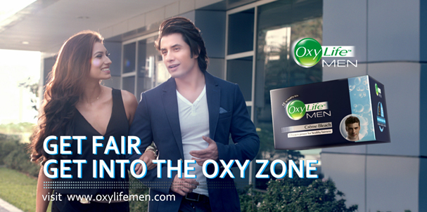 Ali Zafar is the Face of OxyLife Men Bleach