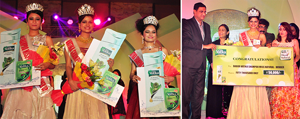 Jhansi Girl crowned Dabur Vatika Miss Natural 2015
