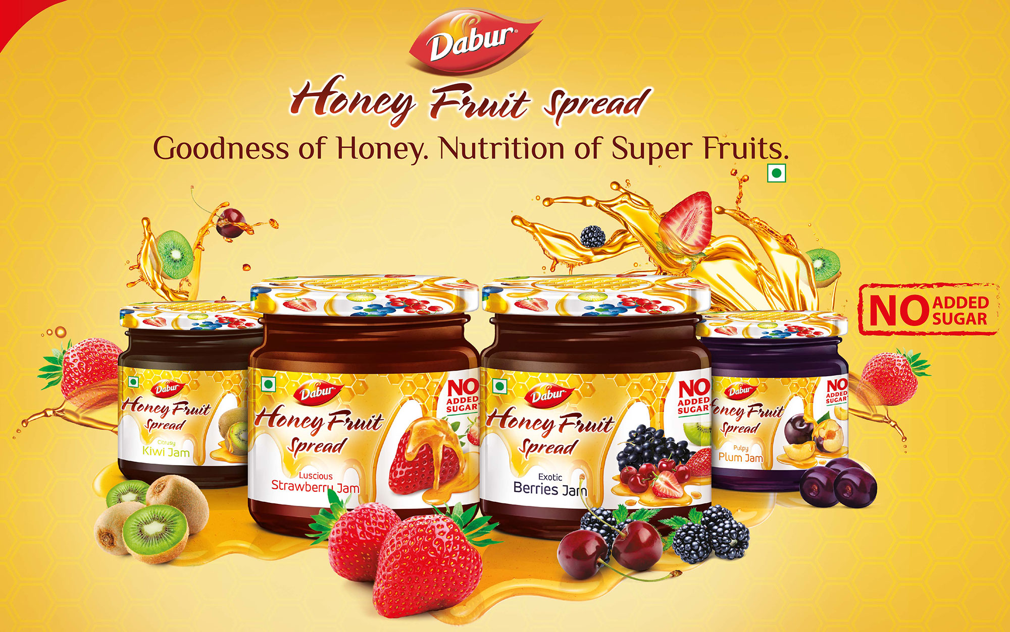 Dabur launches Honey Fruit Spreads
