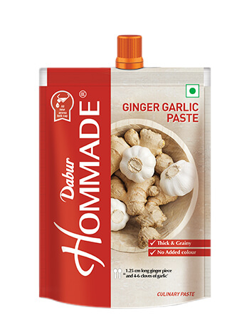 Dabur Hommade Ginger-Garlic Paste