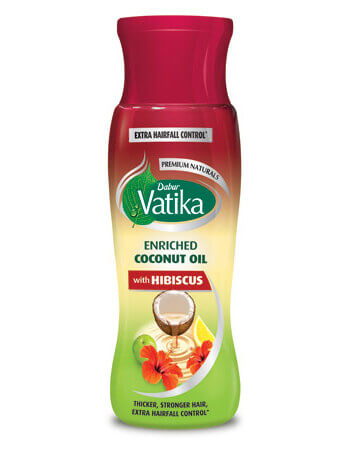 Dabur Vatika Enriched Coconut Oil with Hibiscus