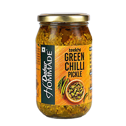 Dabur Hommade Green Chilli Pickle